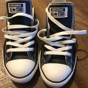 Converse All Star (Black Leather)